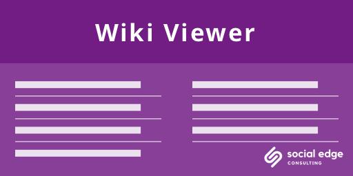 Wiki Viewer+