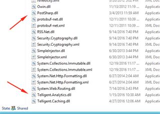 Telligent Analytics stop working after Community upgrade to 10 1 6